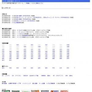 サッカー日本代表データベース