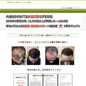 育毛の達人式【結果に満足】できる自宅発毛法