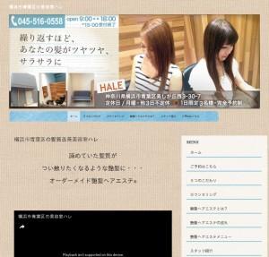 横浜市青葉区の艶髪になれるトリートメントは【美容室Hale】