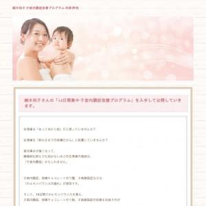 続木和子「子宮内膜症改善プログラム」内容と評判