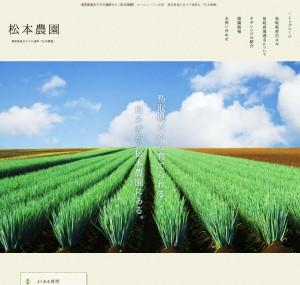 オールシーズン出荷・鳥取県産の白ネギ通販は「松本農園」