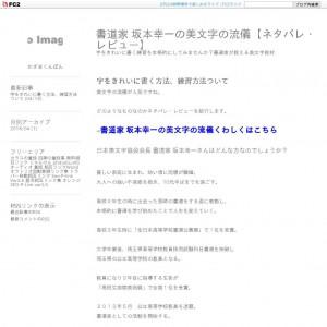 書道家 坂本幸一の美文字の流儀【ネタバレ・レビュー】