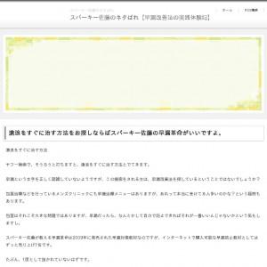 スパーキー佐藤※ネタバレ【早漏対策の方法】