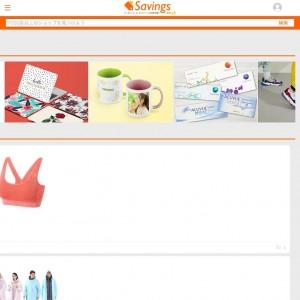 Savings.co.jpのホームページ