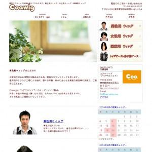 東京のウィッグ専門のサイト