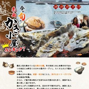 糸島の美味しい牡蠣小屋のランキングお店紹介サイト