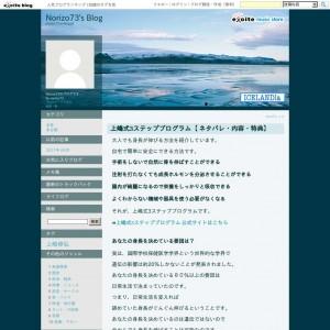 上嶋式3ステッププログラム【 ネタバレ・内容・特典】
